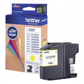 Brother oryginalny ink LC223Y, yellow