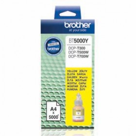 BROTHER Tusz DCP-T300 Yellow [BT 5000 Y]
