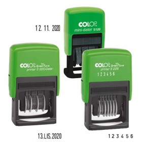 DATOWNIK COLOP MINI S120 CYFR.GREEN LINE