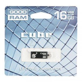 PENDRIVE 16GB GOODRAM USB 2.0 CUBE BLACK