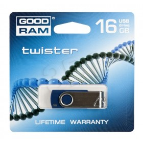 PENDRIVE GOODRAM 16GB USB 2.0 TWISTER NIEBIESKI