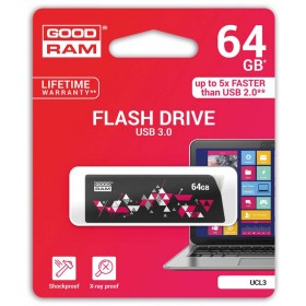 PENDRIVE GOODRAM 64GB USB 3.0 CL!CK CZARNY