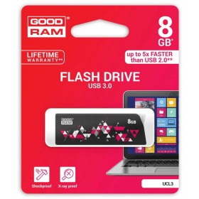 PENDRIVE GOODRAM 8GB USB 3.0 CL!CK CZARNY