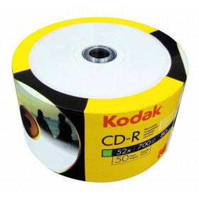 PŁYTA CD-R KODAK 700MB 52X 700 MB 50 SZT SPINDLE PRINTABLE DO NADRUKU