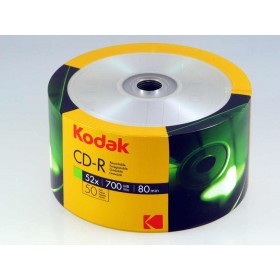 PŁYTA CD-R KODAK 700MB 52X 700MB 50 SZT. SPINDLE