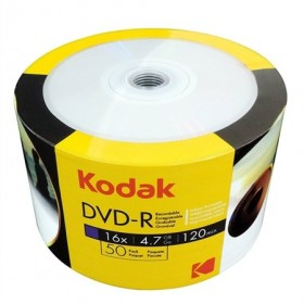 PŁYTA DVD-R KODAK 16X 4,7GB 50SZT. SPINDLE PRINTABLE DO NADRUKU