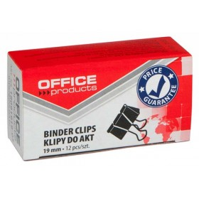 SPINACZ KLIPS OFFICE PRODUCTS 19MM 12SZT