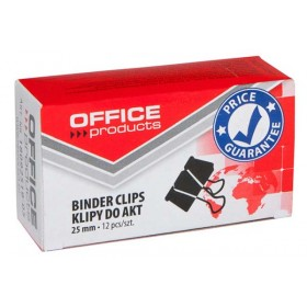 SPINACZ KLIPS OFFICE PRODUCTS 25MM 12SZT